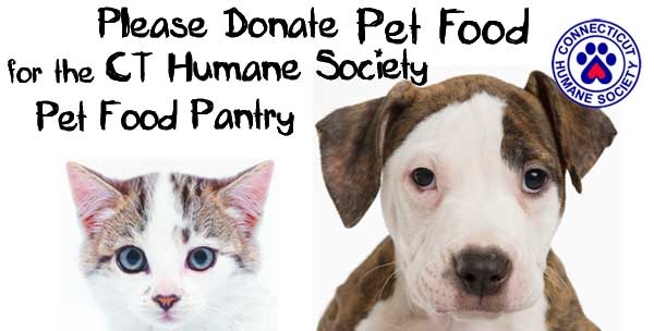 Please donate pet food