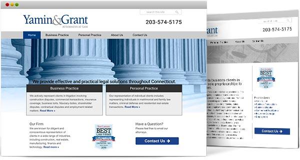 Ct web design, Yamin & Grant